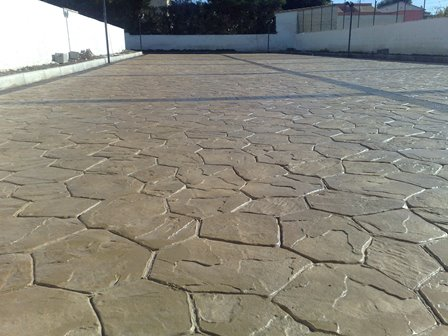 stamped concrete for yards