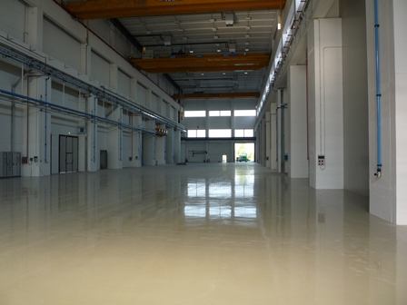industrial resn floor