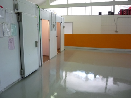 industrial resin floor