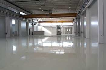 APSE company produces concrete floors, resin flooring