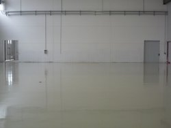 resin industrial floor