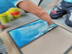 resin fixing courses